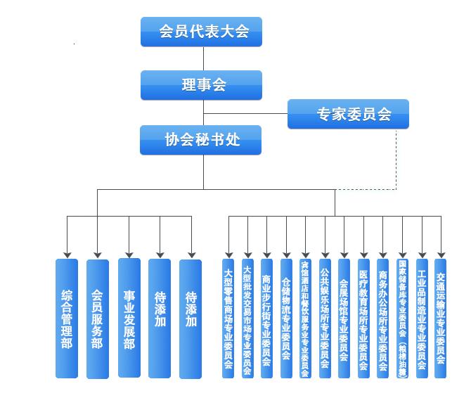 全国商业消防协会组织架构图